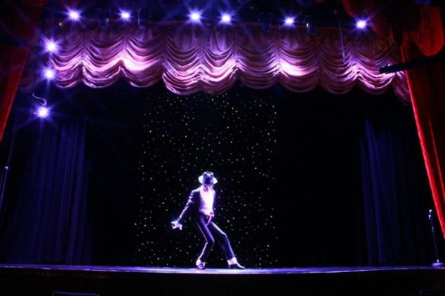 ICE as Michael Jackson in Costa Cruise