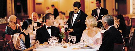 cruise formal dining