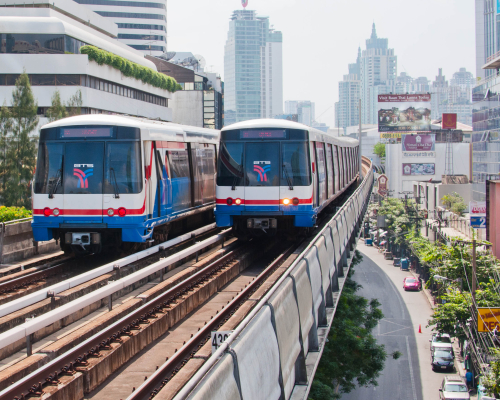 Bangkok Transit System (BTS) Skytrain