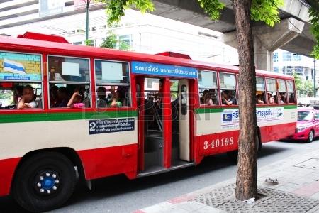 Bangkok's Public bus