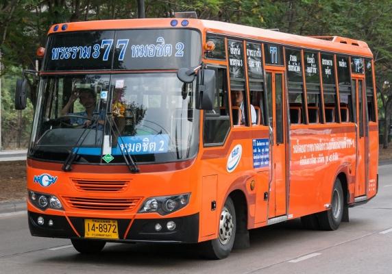 A private tour bus