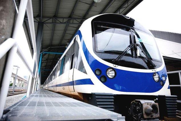 City Line Airport Rail Link (Blue Train)