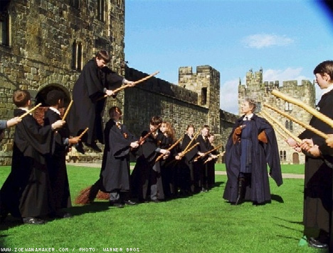 Scene from Harry Potter & the Sorcerer's Stone movie