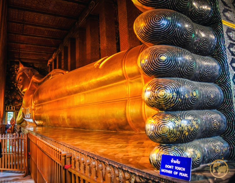 """Wat Pho """"The Temple of Reclining Buddha"""""""