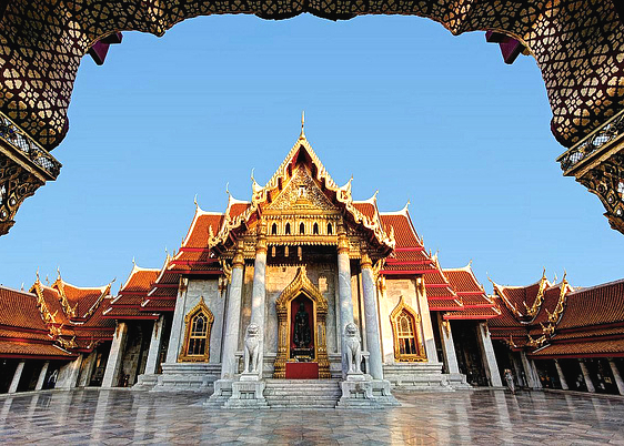 "Wat Benchamabophit ""The Marble Temple"""